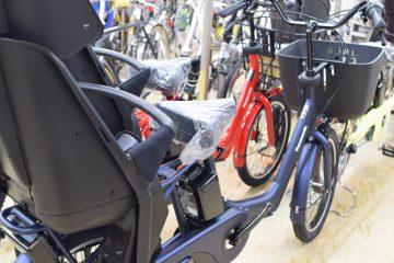 お子さん乗せ電動アシスト自転車あります♪