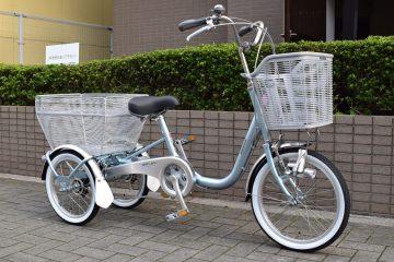 三輪自転車「ブリヂストンワゴン」